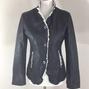 """Jackett"" Brand New York Ragazza leather"